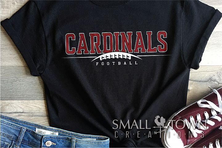 Cardinal Football, Football Team, Sport, PRINT, CUT & DESIGN