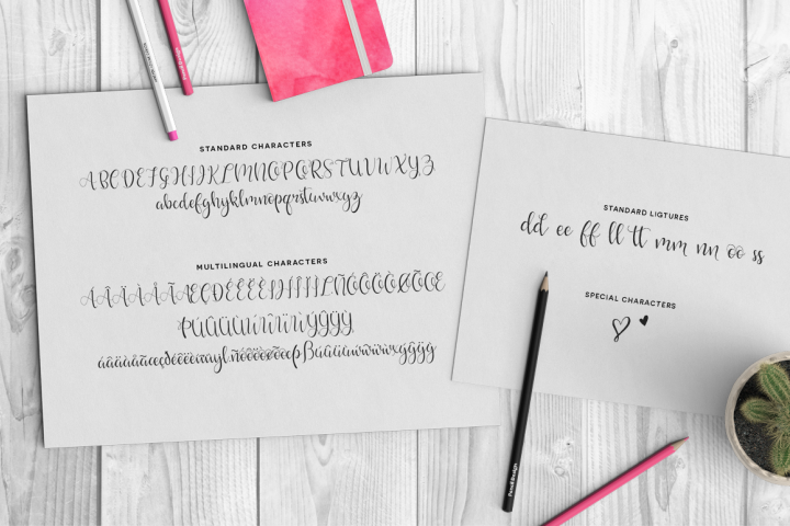 Hello Lovely Font - Free Font of The Week Design 2