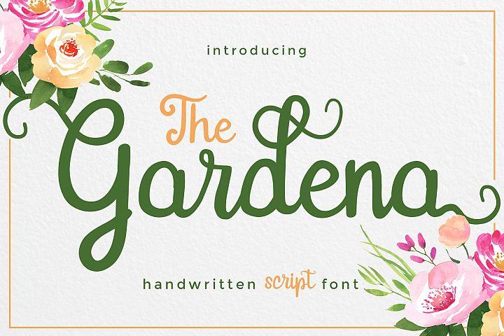 Gardena - Script Font