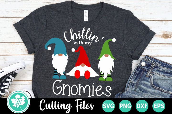 Chillin with my Gnomies - A Christmas SVG Cut File