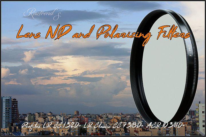 Lens ND & Polarizing Filters Profiles LR ACR