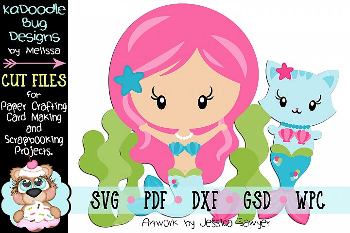 Underwater Friends Cut File - SVG PDF DXF GSD WPC