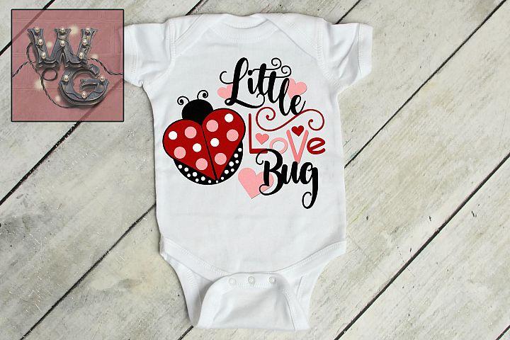 Little Love Bug Lady Bug SVG DXF PNG EPS JPG Commercial