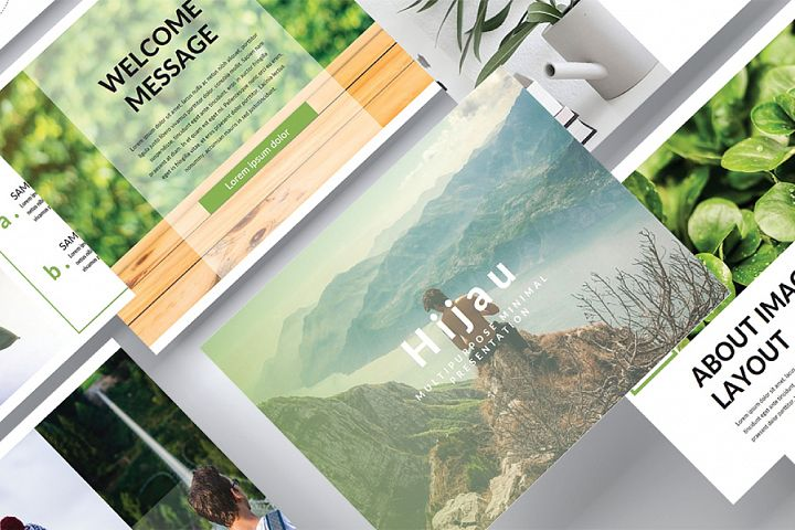 Hijau Powerpoint Template