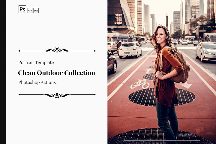 Neo Clean Outdoor Color grading Photoshop Actions