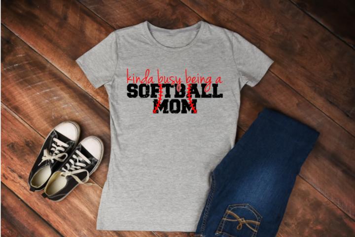 Kinda busy being a softball mom