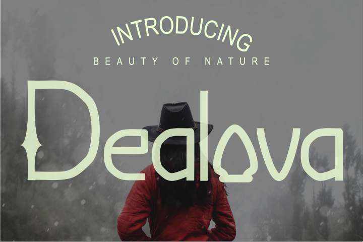 Dealova Regular Font