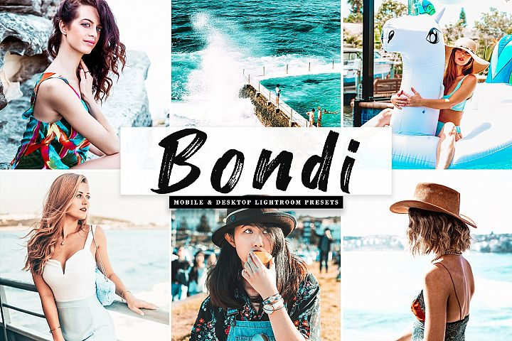Bondi Mobile & Desktop Lightroom Presets