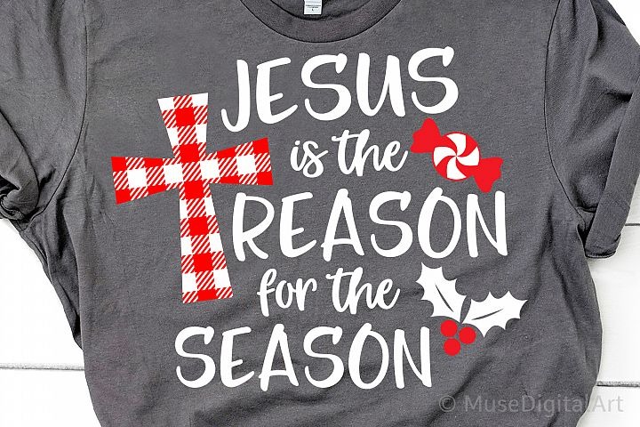 Jesus is the Reason for the Season Svg, Christmas Svg, Funny