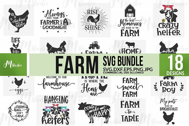 Farm SVG Bundle