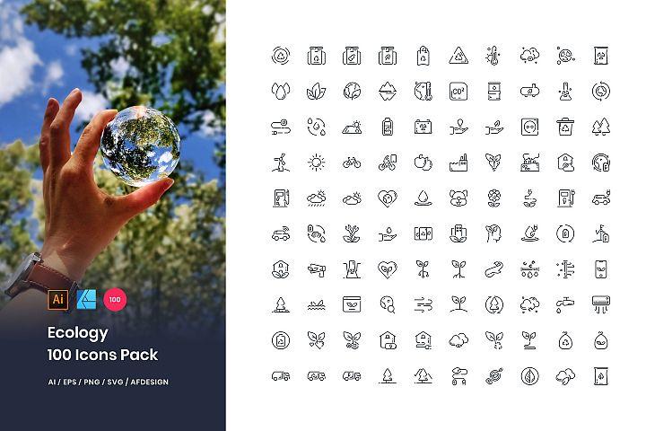 Ecology 100 Set Icon Pack