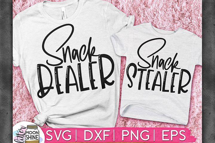 Snack Dealer & Stealer Set of 2 SVG DXF PNG EPS