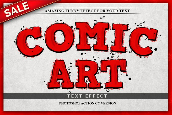 Funny Text Effect Photoshop Action