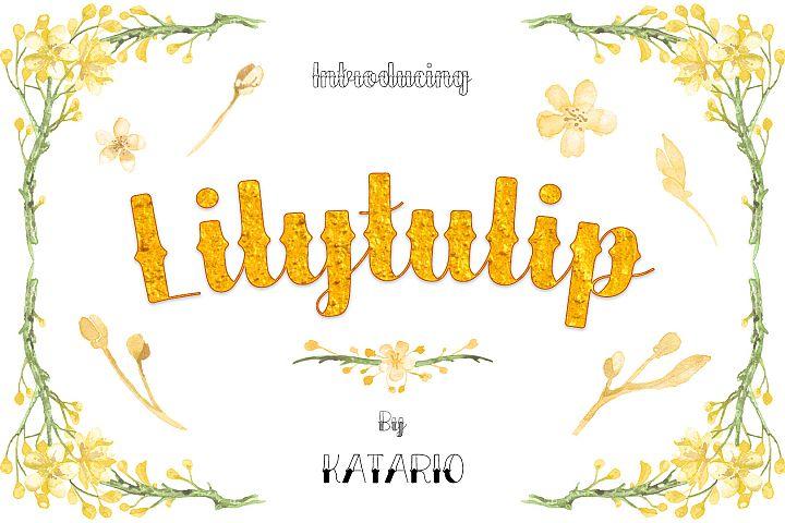 Lilytulip Script Font