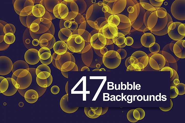 47 Bubbles Backgrounds