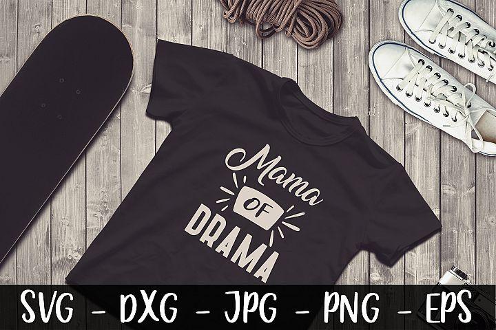 Mama Of Drama SVG DXF EPS Dog SVG Design Crafters SVG