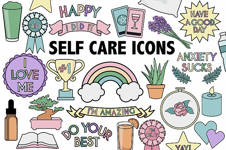 Self Care Icons