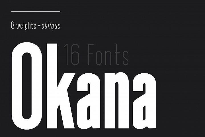 Okana - Sans Serif Font