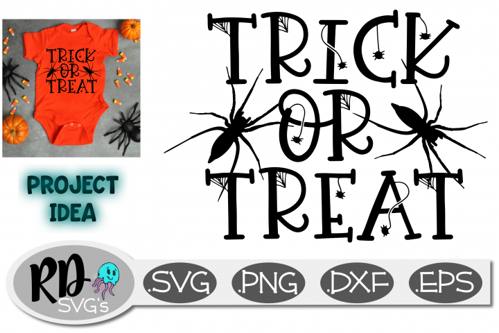 TRICK OR TREAT - A Smooth Cutting Halloween Cricut File