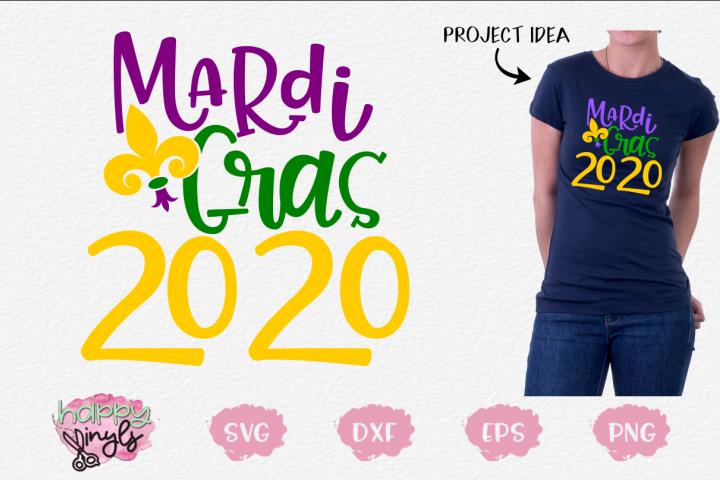 Mardi Gras 2020 - A Mardi Gras SVG File
