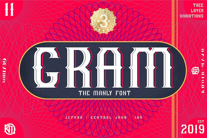 GRAM - New Font Display