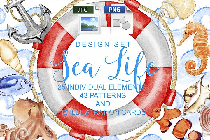 Sea Life Design Set
