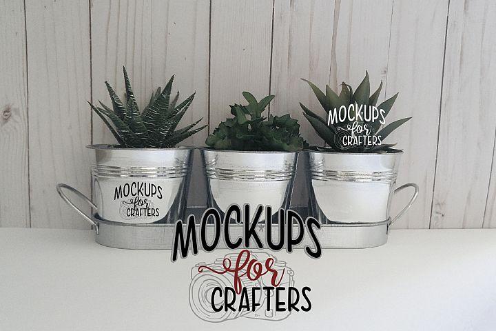 MOCK-UP - Planter set, Dollarama Store, Canada
