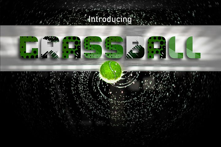GrassBall Font