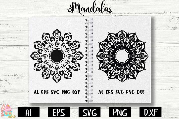 Mandalas SVG - Mandala Cut Files