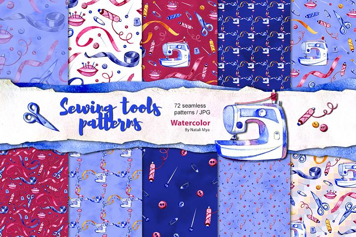 72 sewing seamless patterns