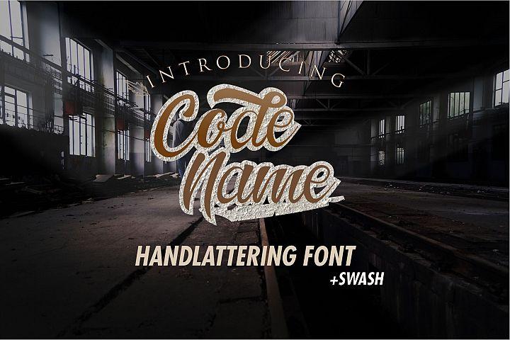 Codename Font
