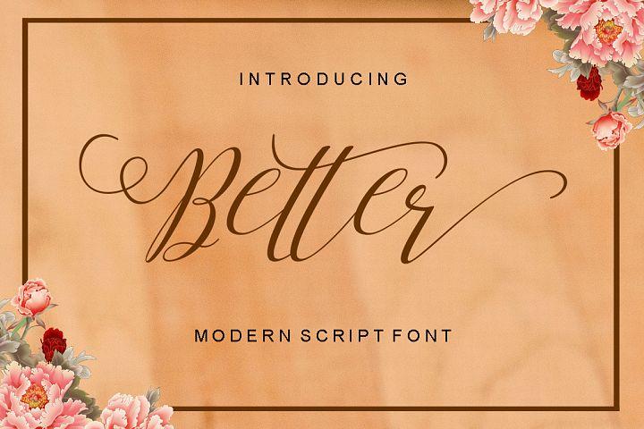 Better Script