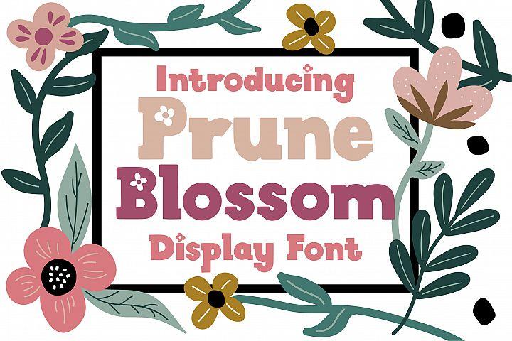 Prune Blossom Font