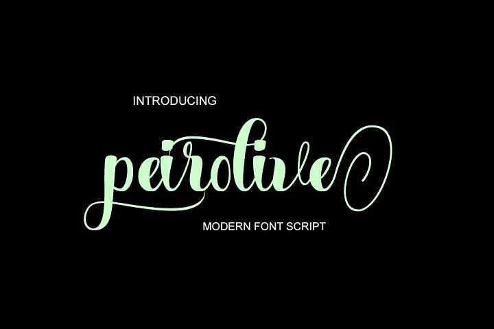 Peirolive Script