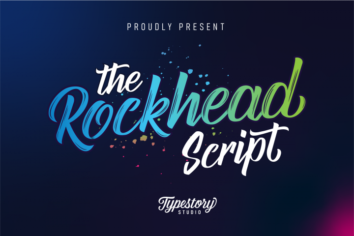 Rockhead script - Free Font of The Week