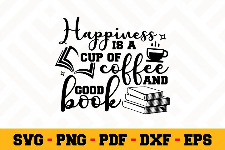 Book Lover SVG Design n618 | Reading SVG Cut File