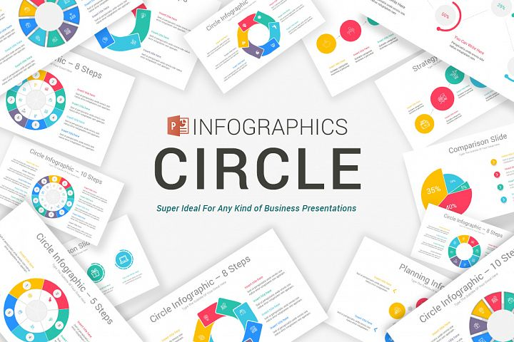 PowerPoint Circle Infographic Pack