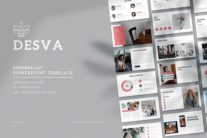 Desva - Minimalist Powerpoint Template
