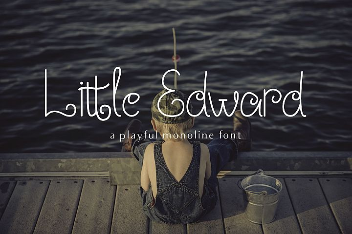 Little Edward - Childish font