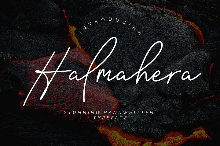 Halmahera Handwritten Script