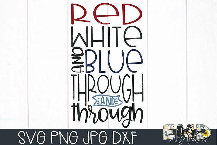 Red White And Blue | 4th of July Svg