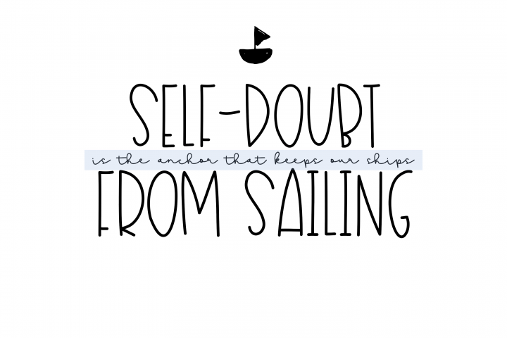 Sailboat - A Fun Handwritten Font - Free Font of The Week Design0