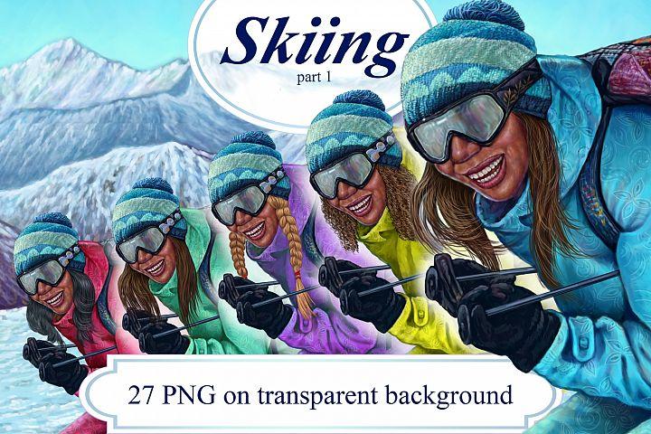Skiing part 1