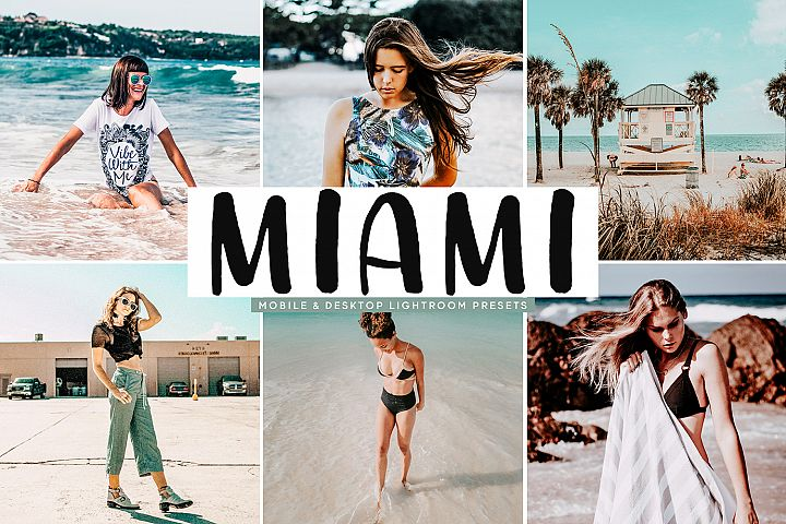 Miami Mobile & Desktop Lightroom Presets