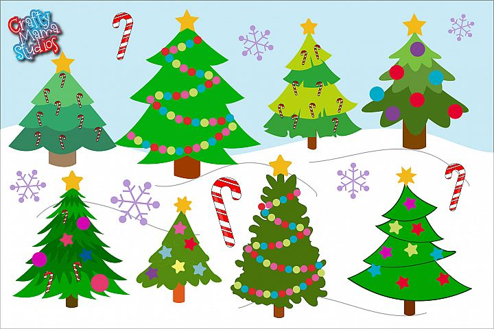 Christmas Tree Bundle SVG, Sublimation, Christmas SVG