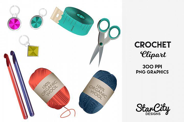 Crochet Clipart & Knitting Clipart