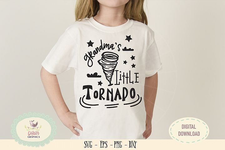 Grandmas little tornado SVG cut file grandmas day svg