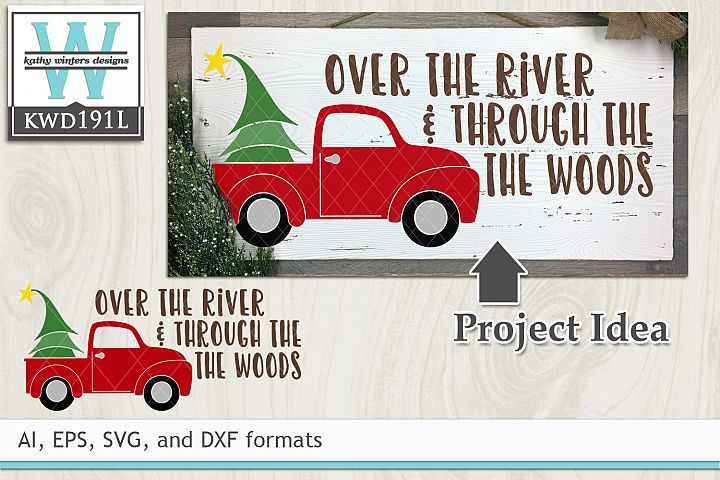 Christmas SVG - Over The River