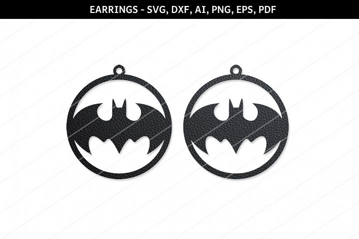 Bat earrings svg,Jewelry svg,Cricut files,silhouette file