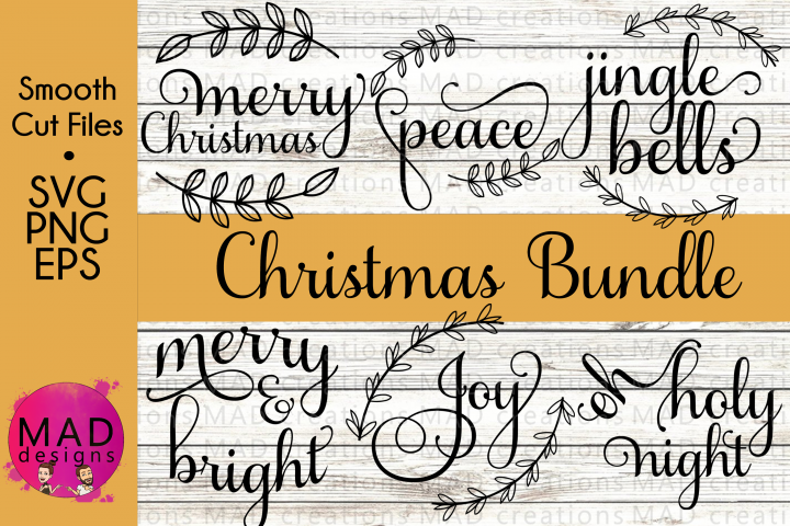 Script Christmas SVG Bundle